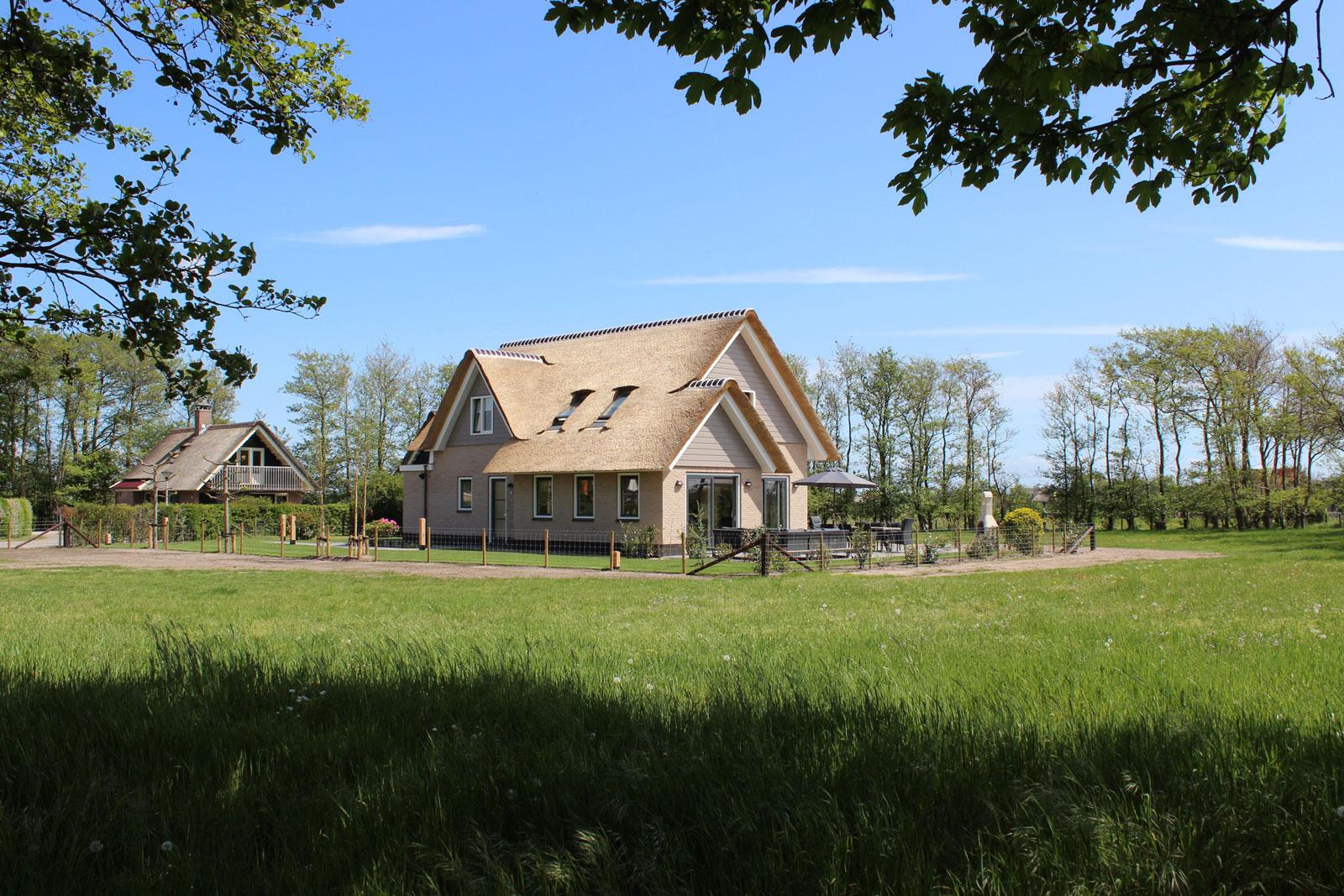 6-8 Persoons Wellness Landhuis Rietgedekt (150 m2)