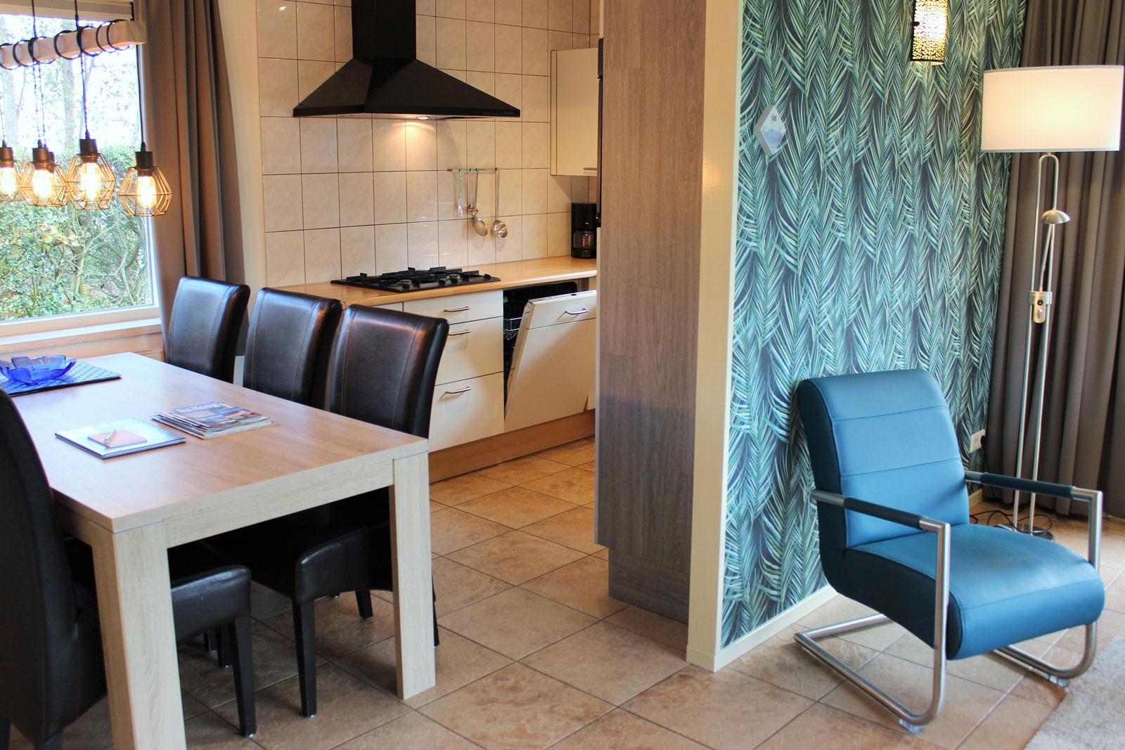 vakantiehuizen nr 12 en 14 keuken