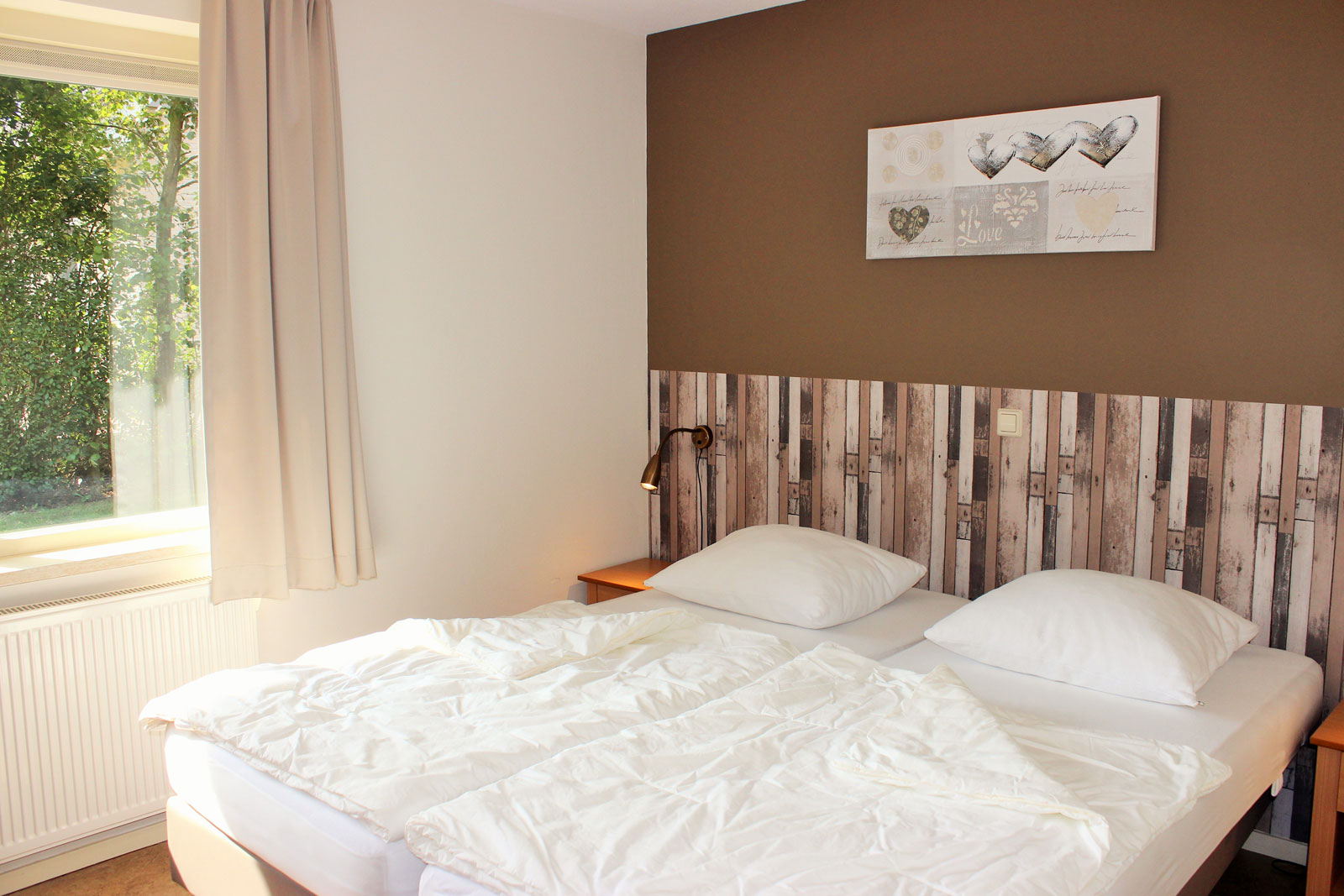 vakantiehuizen nr 12 en 14 slaapkamer beneden