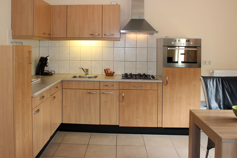 Bungalows 491A 493A keuken