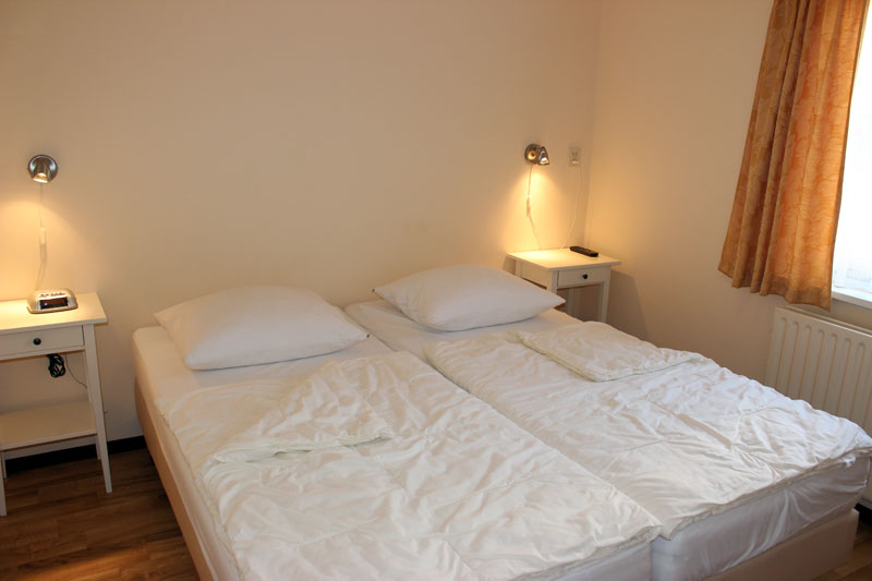 Bungalows 491A 493A slaapkamer