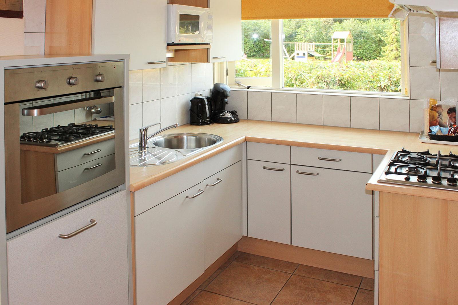Bungalows de Luxe 5-7 keuken